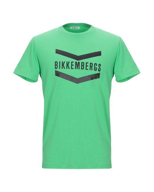 T-shirt Bikkembergs pour homme en coloris Green