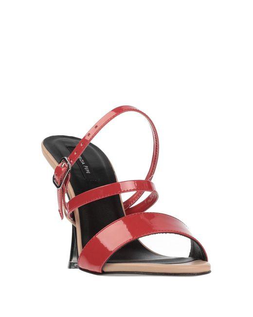Patrizia Pepe Red Sandale