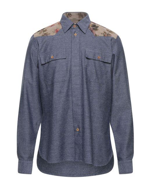 Camicia di Alea in Blue da Uomo