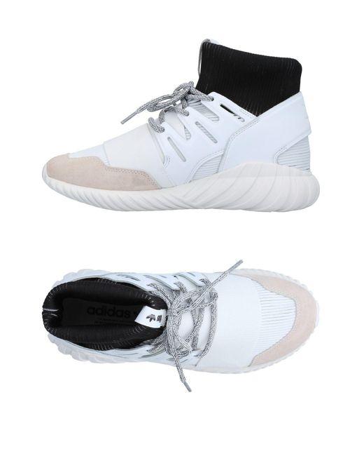 Adidas Originals White High-tops & Sneakers for men
