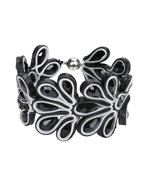 Jolie By Edward Spiers | Black Bracelet | Lyst