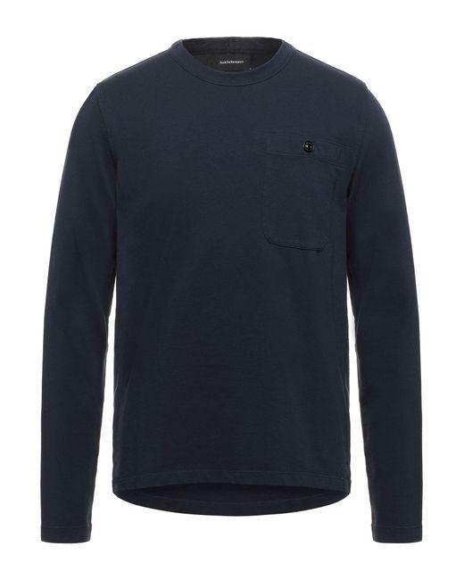 Peak Performance T-shirts in Blue für Herren