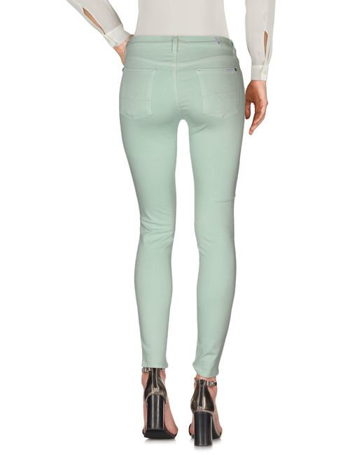 Pantalon 7 For All Mankind en coloris Green
