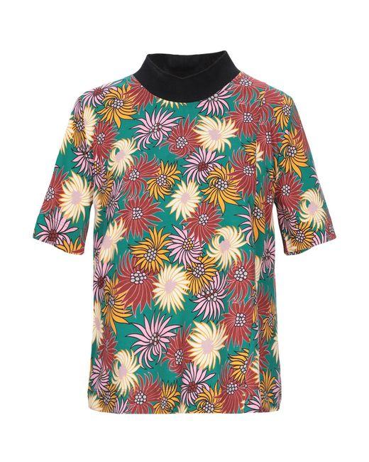 Marni Camiseta de mujer de color verde 9SyeT