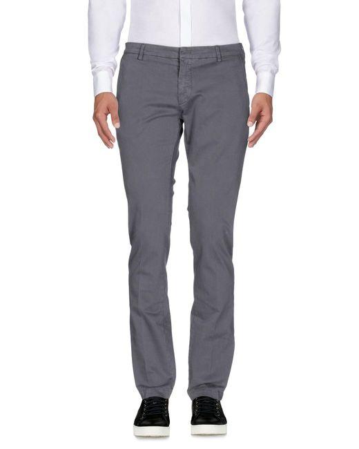 Michael Coal Gray Casual Trouser for men