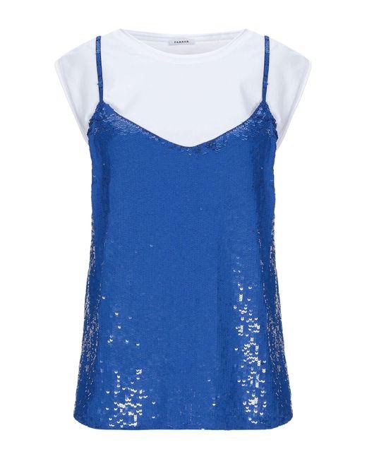 P.A.R.O.S.H. Top da donna di colore blu