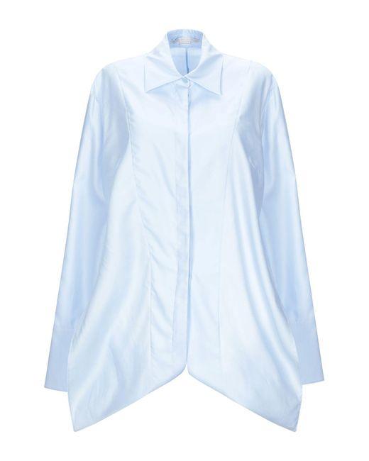 Stella McCartney Camicia da donna di colore blu