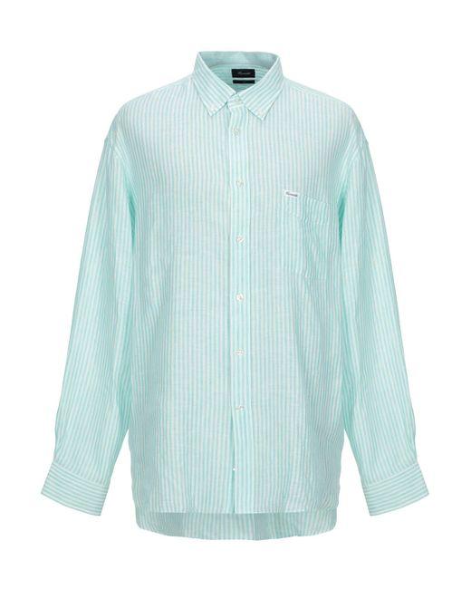 Façonnable Camicia da uomo di colore blu