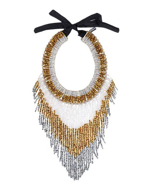 NIGHTMARKET.IT - Metallic Necklace - Lyst