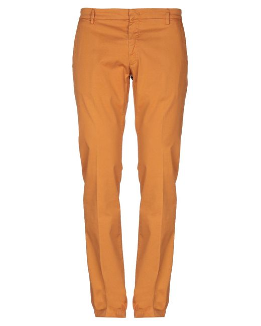 Michael Coal Orange Casual Pants for men