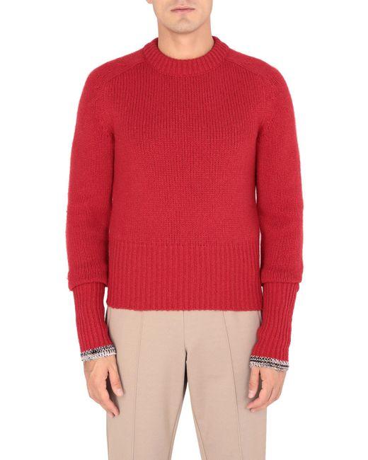 Pullover Maison Margiela pour homme en coloris Red