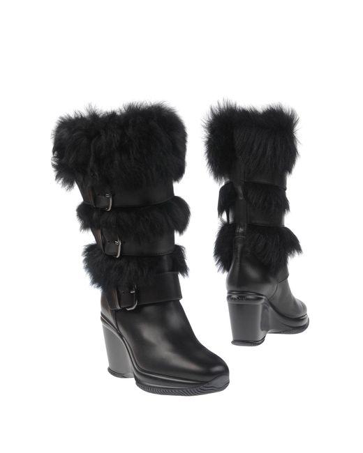 Hogan Black Boots