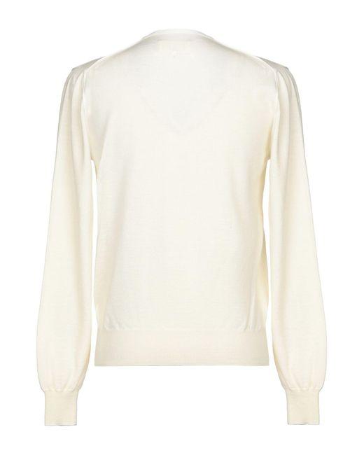 Pullover Maison Margiela pour homme en coloris White