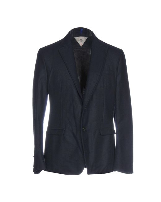 Macchia J Blue Blazer for men