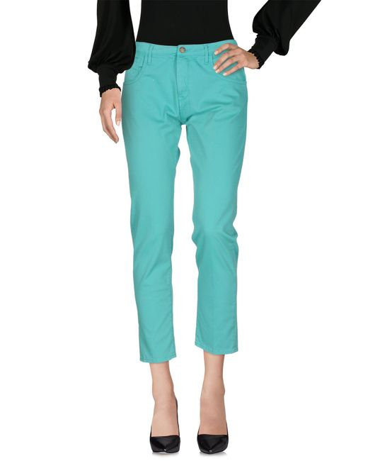 TRUE NYC - Green Casual Pants - Lyst