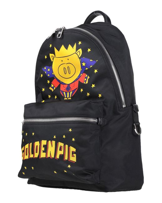Dolce & Gabbana Black Backpack for men