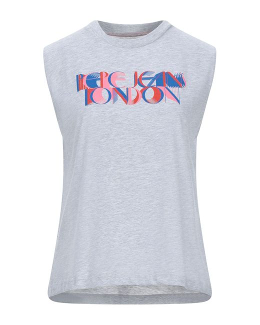 Pepe Jeans Gray T-shirts