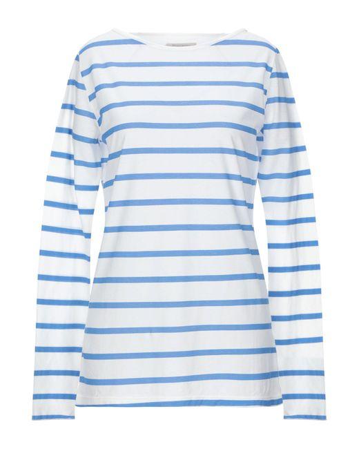 Almeria T-shirt da donna di colore bianco