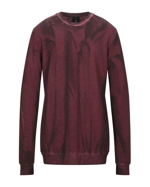 Thom Krom Purple Sweatshirt for men