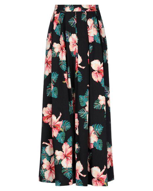 W Les Femmes By Babylon Black Long Skirt