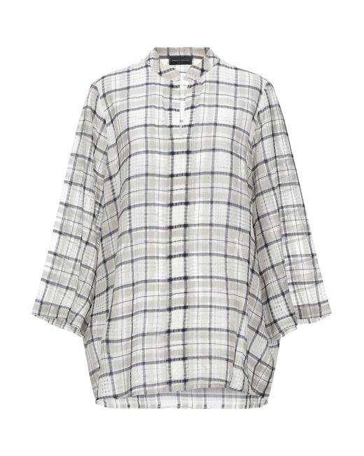 Blusa di Roberto Collina in Gray