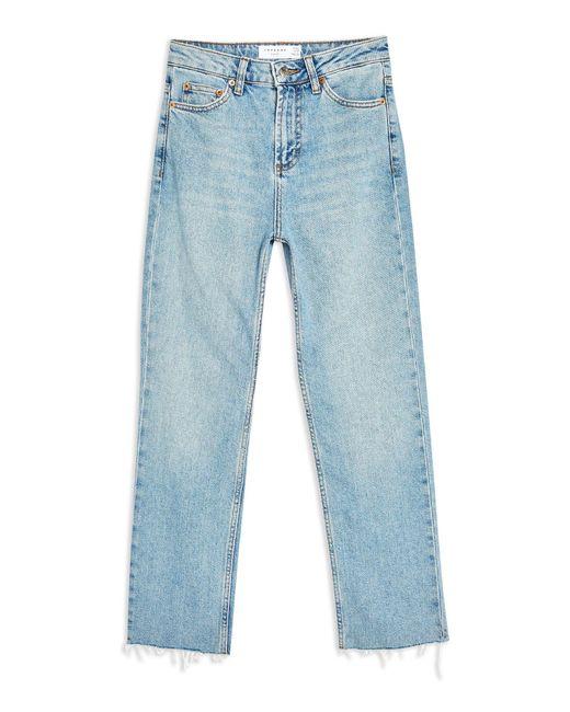 TOPSHOP Blue Denim Pants