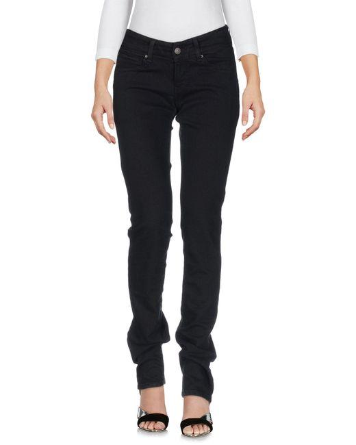 Levi's - Black Denim Trousers - Lyst