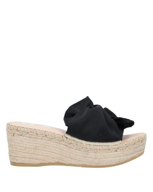 Manebí Black Sandals