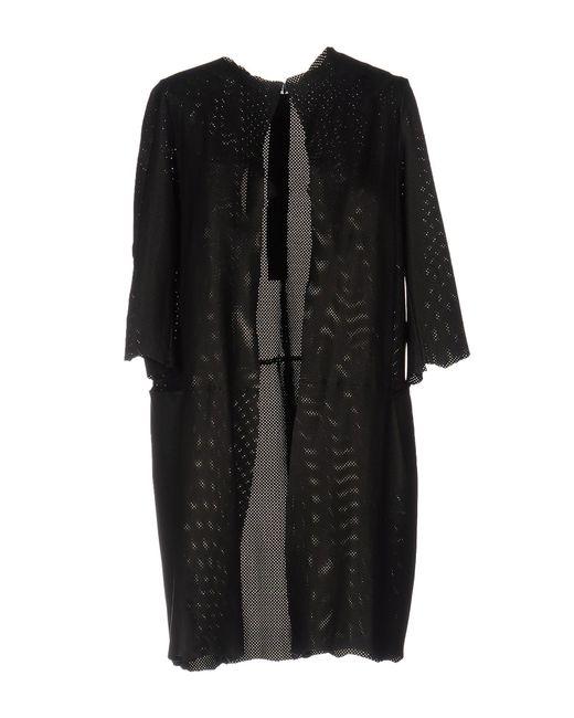 B-used - Black Overcoat - Lyst