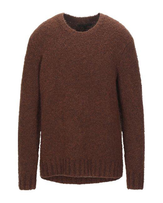 Pullover John Varvatos pour homme en coloris Brown