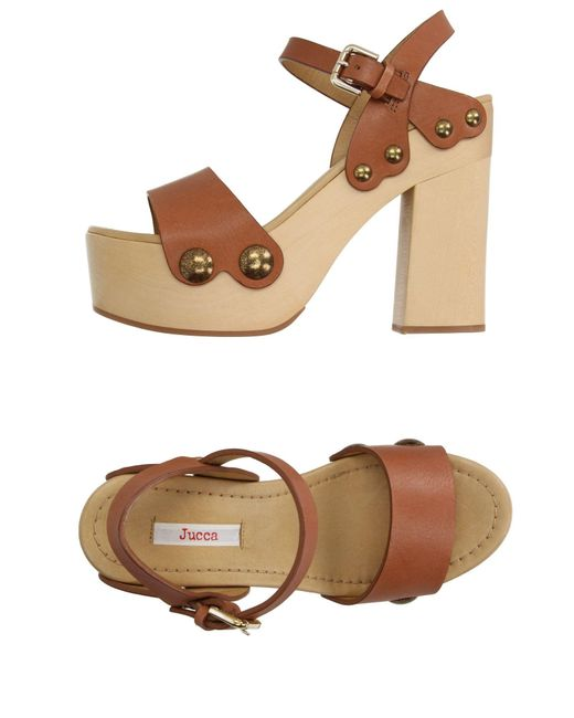 Jucca | Brown Sandals | Lyst