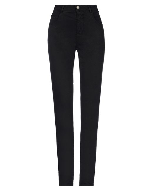 Marani Jeans Black Casual Trouser