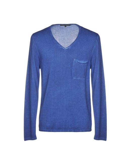 Drykorn Blue Sweater for men