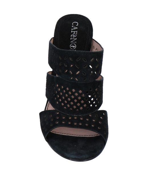 CafeNoir Black Sandale