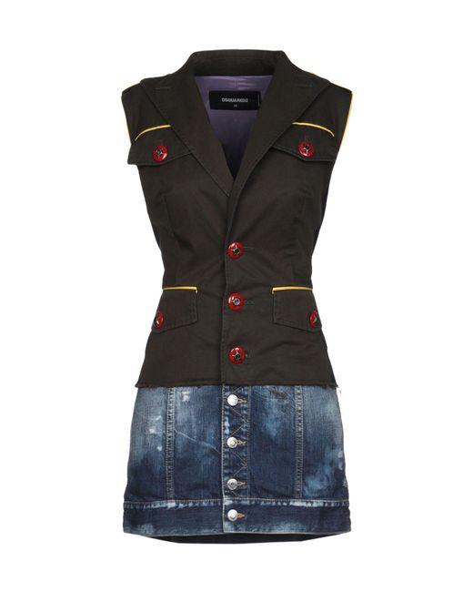 DSquared² Black Short Dress