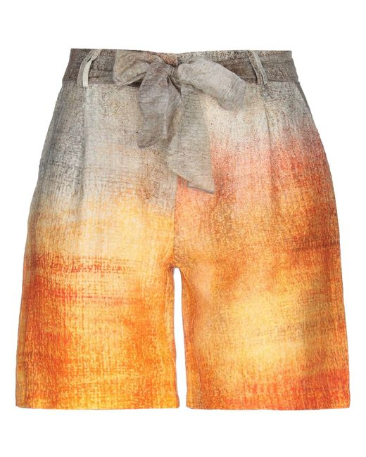LFDL Orange Bermuda Shorts