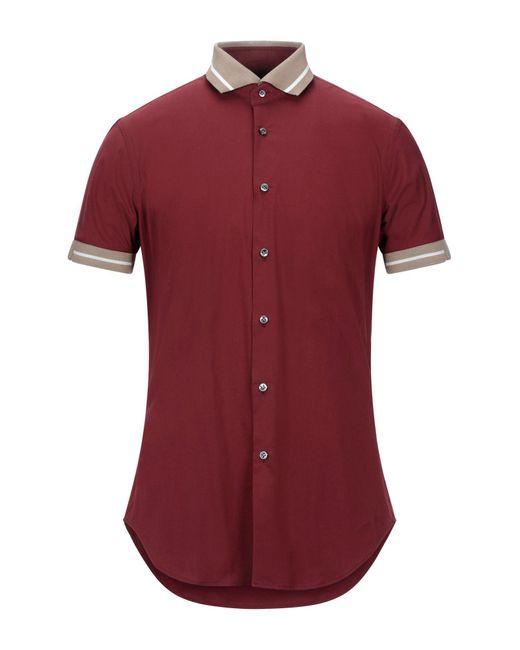 Pal Zileri Hemd in Red für Herren
