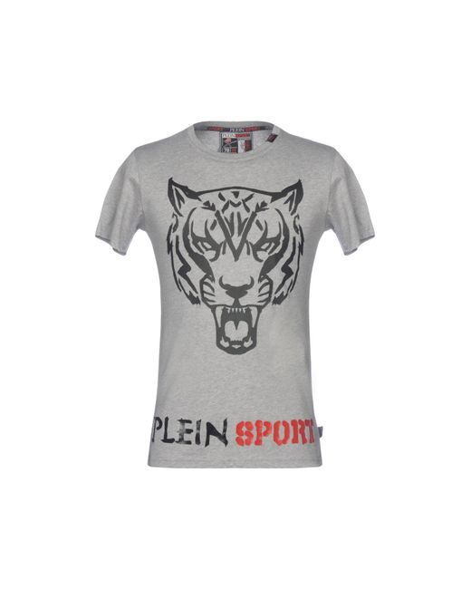 Philipp Plein - Gray T-shirts for Men - Lyst