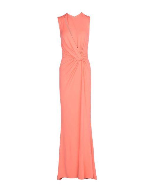 Robe longue Elie Saab en coloris Pink