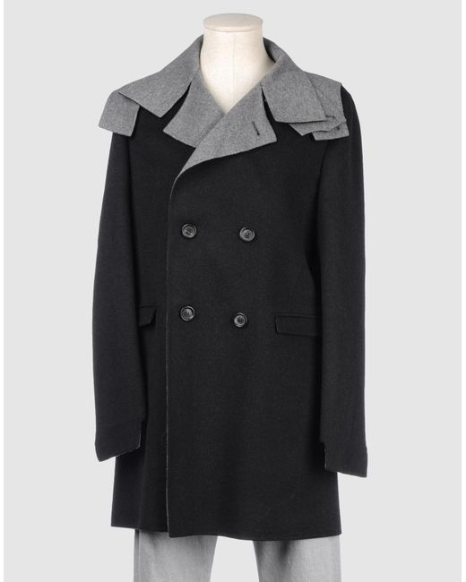 Giuliano Fujiwara - Black Mid-length Jacket for Men - Lyst