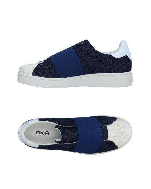 MOA - Blue Low-tops & Sneakers for Men - Lyst