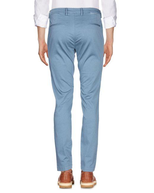 Pantalone di Michael Coal in Blue da Uomo