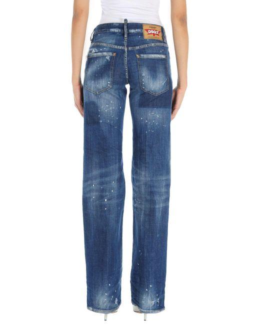 Pantalon en jean DSquared² en coloris Blue