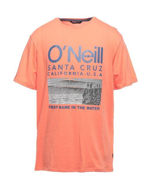 O'neill Sportswear T-shirts in Orange für Herren