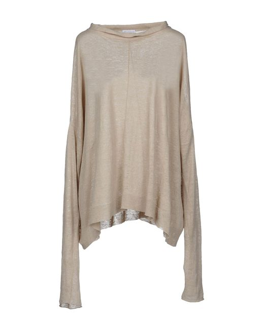 Brunello Cucinelli - Natural Jumper - Lyst