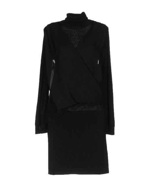 Ki6? Who Are You? Black Short Dress