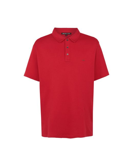 Polo Michael Kors pour homme en coloris Red