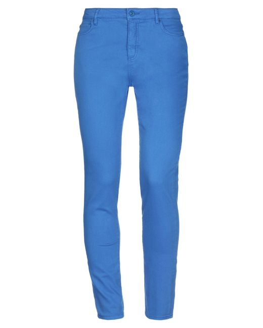 Armani Exchange Blue Denim Trousers