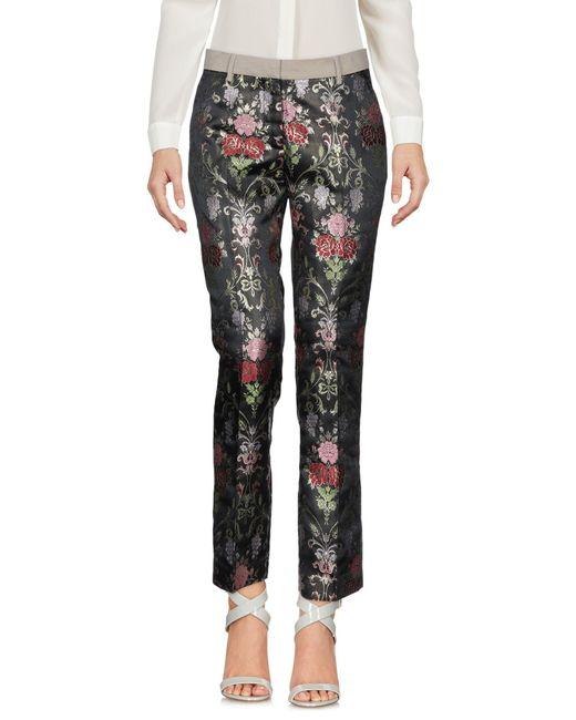 History Repeats Pantalon femme de coloris noir 7P4cY
