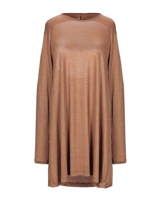 Robe courte Jijil en coloris Brown